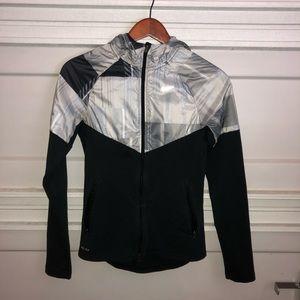 Nike Women's Knit Hooded Windrunner Jacket